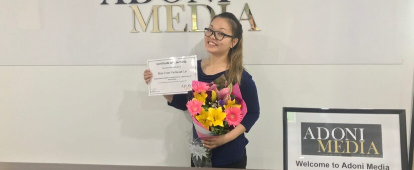 FROM OUR INTERNS: FELICIA'S EXPERIENCE
