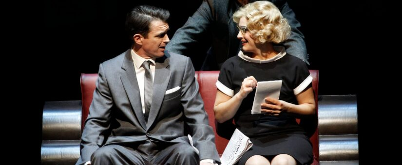 QPAC HOSTS CELEBRATED THEATRE PRODUCTION OF HITCHCOCK'S NORTH BY NORTHWEST